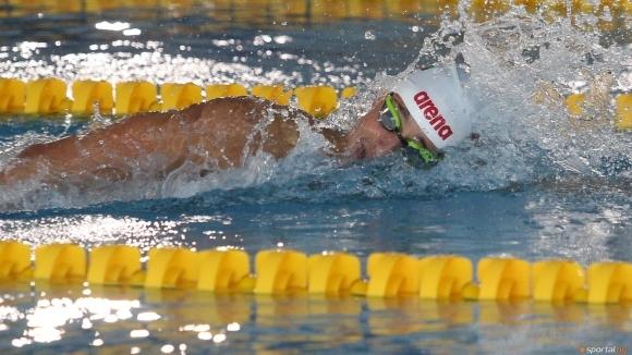 Йордан Янчев се класира за финала на 400 метра свободен стил на СП по плуване