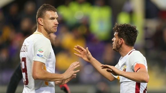 Обещали капитанската лента на Джеко, за да остане в Рома