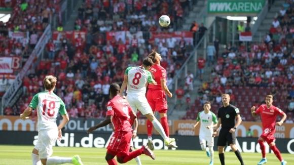 Първи гол и първа точка за Унион в Бундеслигата (видео)