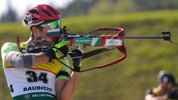 Краси Анев завърши шести в спринта на летния биатлон