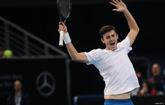 Лазаров спечели титла на двойки в Румъния