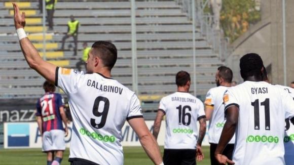 Гълъбинов с отличен старт на сезона в Италия