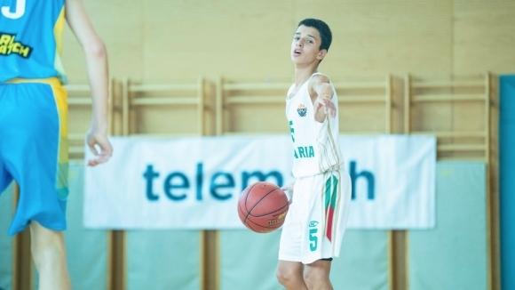 14-годишните национали с равенство срещу Украйна