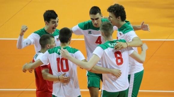 Волейболистите на България до 19 години записаха първи успех на светновното