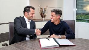 Официално: Филипе Коутиньо вече е футболист на Байерн