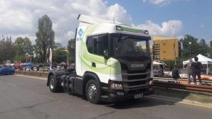 """Скания показа камиони на метан на """"Писта София"""" 2019"""