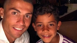 Кристиано младши не можел да повярва къде е живял баща му