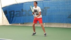 Симеон Терзиев се класира на два четвъртфинала в Украйна
