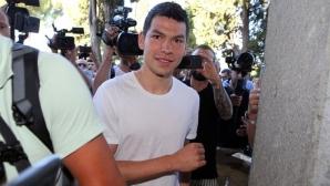 В Неапол: Лосано мина прегледите, следващият може би ще е Йоренте