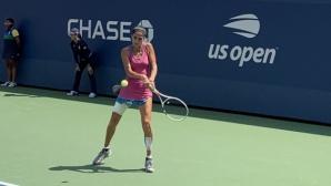 Румънка спря Шиникова на крачка от схемата на US Open