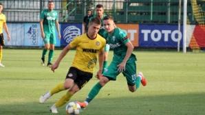 Ботев (Пловдив) 2:1 Витоша, двата отбора си размениха по една греда (видео)