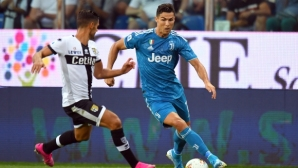 Парма 0:1 Ювентус, отмениха гол на Роналдо
