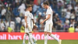 """Реал Мадрид се препъна в първия си мач на """"Бернабеу"""" (видео+галерия)"""