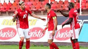 ЦСКА-София гони изразителна победа в Русе