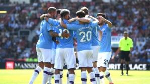 Борнемут 1:2 Манчестър Сити, страхотен гол на Хари Уилсън (гледайте тук)
