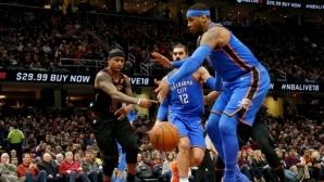 Айзея Томас: Кармело Антъни трябва да играе в НБА