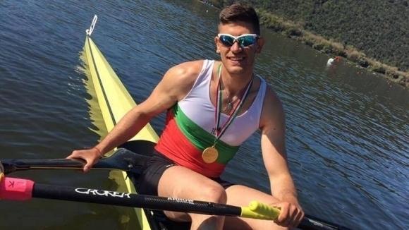 """Кристиан Василев спечели финал """"С"""" на скиф на Световното по гребане"""