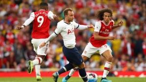 Тотнъм поведе с 2:0, но ВАР отне победата на Арсенал в дербито на северен Лондон