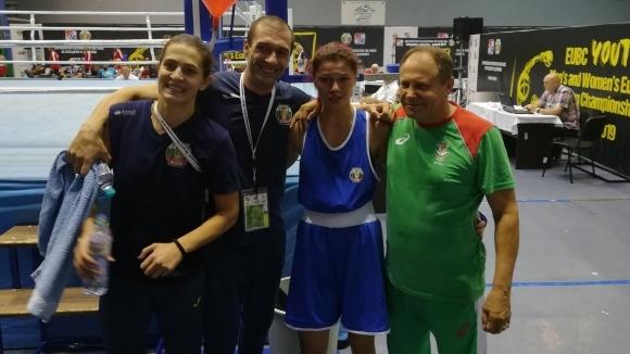 Още една българка си гарантира медал на ЕП по бокс