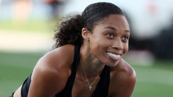 Алисън Филикс с победа на 150 метра