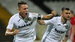 Трима контузени може да се завърнат в игра за Славия през следващата седмица