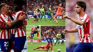 Барса и Мадрид дават крила на Атлети