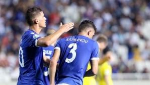 Кипър и Казахстан взеха по точка (видео)