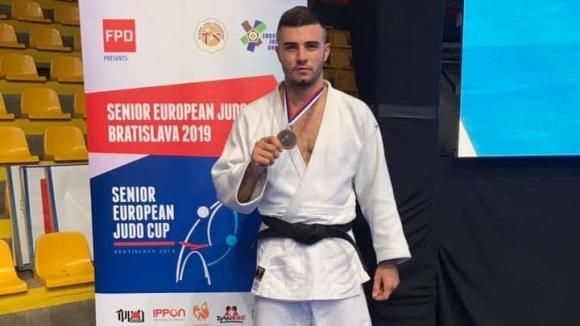 Борис Георгиев с бронз на Европейската купа в Братислава