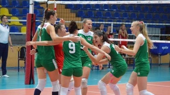 България загуби на осминафиналите на Световното за девойки до 18 години