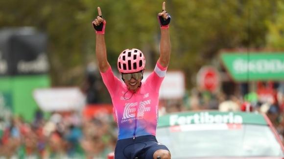 Серхио Игита спечели 18-ия етап на Вуелтата, Примож Роглич увеличи аванса си на върха