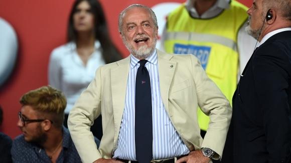 Президентът на Наполи посочи разногласията между него и Сари
