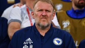 Роберт Просинечки оттегли оставка си и остава селекционер на Босна и Херцеговина
