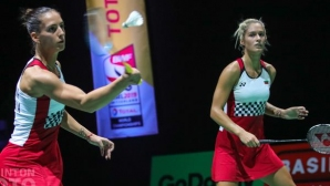 Сестри Стоеви се класираха за полуфиналите на Yonex Belgian International