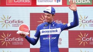 Французин спечели днешния етап в Испания, Роглич е най-доволен