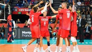 Франция с чиста победа над Гърция, Нгапет в игра (снимки)