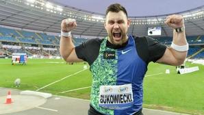 Буковиецки даде заявка за световен медал на гюле с 22.25 метра