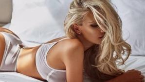 Горещо! Футболна съпруга спира дъха в социалните мрежи (снимки)