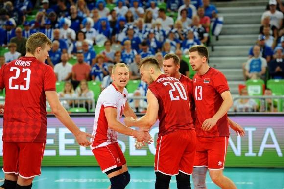 Беларус с първа победа на Европейското след страхотен обрат над Финландия (снимки)