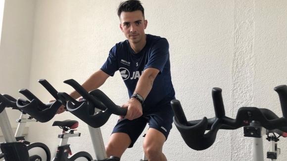 Костадин Велков поднови тренировки в Кемницер