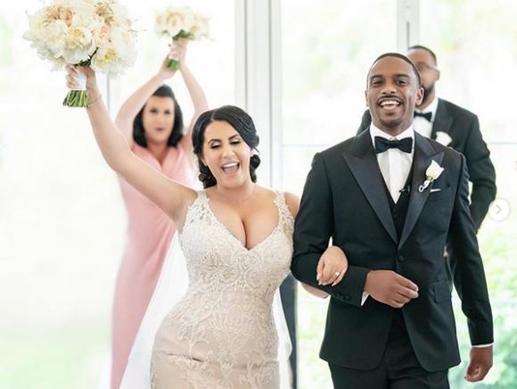 Нови снимки от сватбата на българката Радина и сина на Майкъл Джордан