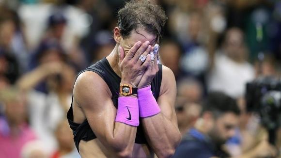 Надал е плакал след само една загуба в кариерата си