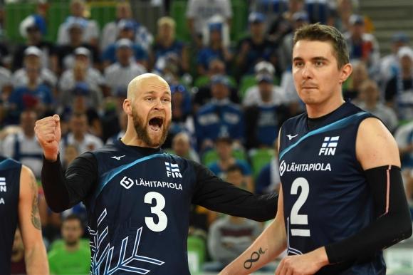 Финландия на 1/8-финал на Евроволей 2019 след обрат срещу Турция (снимки)