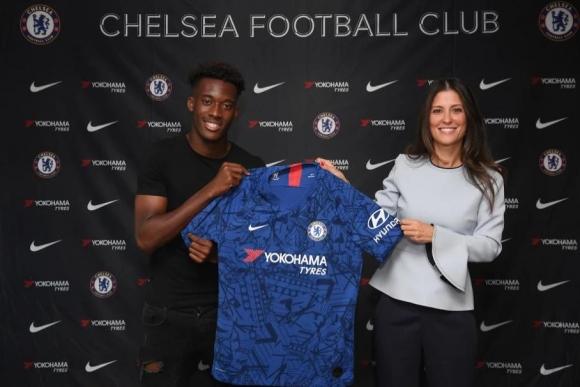Хъдсън-Одой подписа нов петгодишен договор с Челси
