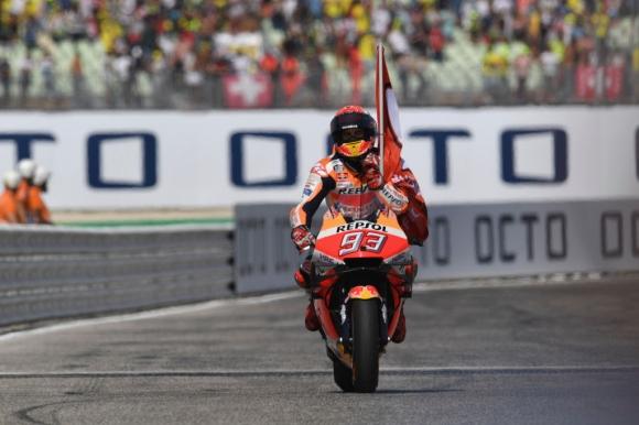 Маркес с 1.6 сек напред в първата MotoGP тренировка в Арагон