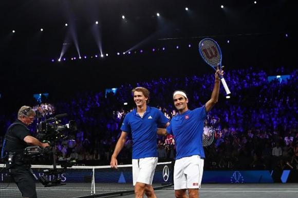 Федерер и Зверев осигуриха преднина на Европа след първия ден на
