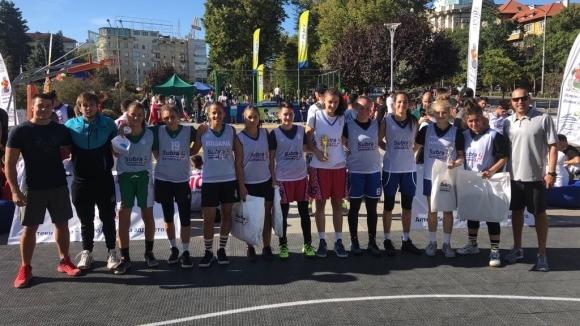 3Х3 турнир събра над 200 души в центъра на София