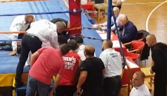Трагедия в Албания! Български боксьор загина на ринга в Шкодра