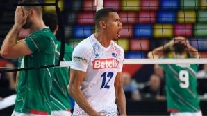 Силна Франция нанесе първа загуба на България на Евроволей 2019 (видео + галерия)