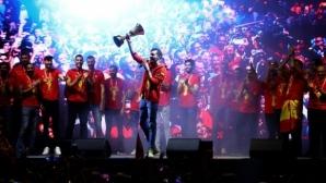 Кралско посрещане и грандиозни първенства за световните шампиони
