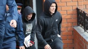 Освободиха Кокорин и Мамаев от затвора предсрочно (видео + снимки)